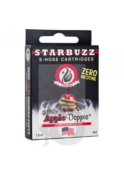 4 Cartuchos Starbuzz E-Hose - Apple Doppio