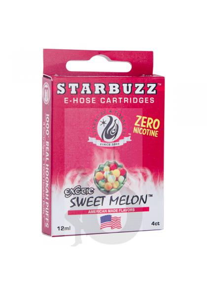 4 Cartuchos Starbuzz E-Hose - Sweet Melon