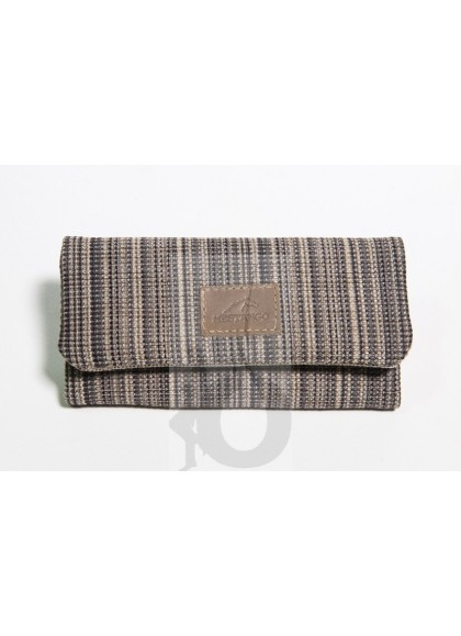 Cartera - Tabaquera Mestango Stripes Marrón