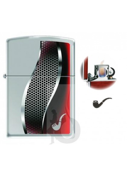 Zippo Pipe Ligther Red