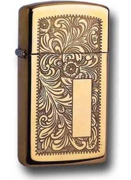 Zippo Venetian HP Brass Slim