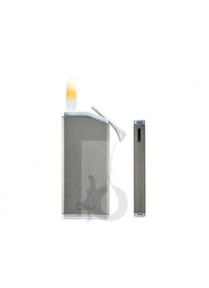 Encendedor Colibri Delta Cromo + Brunito