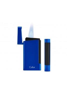 Encendedor Colibri Voyager Azul Negro