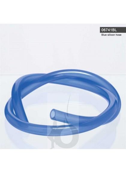 Manguera Azul de Silicona 1,5m para Shisha