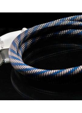 Manguera Azul de Silicona 1,5 m con Funda