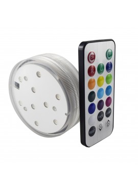"Luz LED 3"" Multi-Color con 9 LEDs"