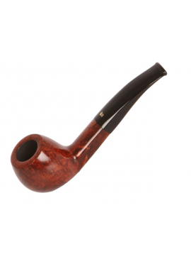 Pipa Stanwell Brushed Negra Curva (9mm)