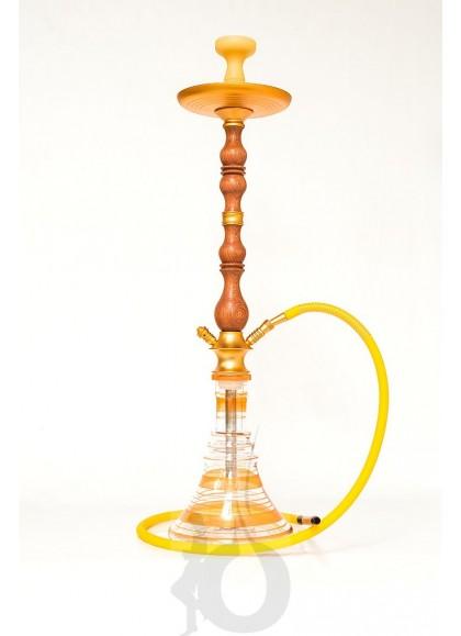 Shisha de Madera Walden - Color: Dorado