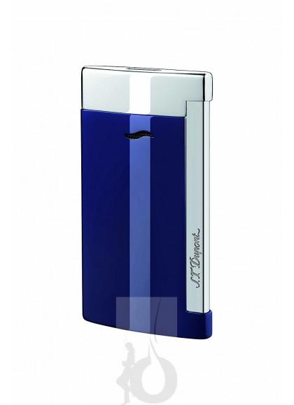 S.T. Dupont Slim 7 Cromado Azul