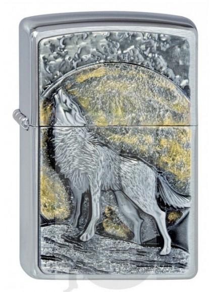 Zippo Wolf Moonlight