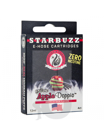 4 Cartuchos Starbuzz E-Hose - Apple Doppio