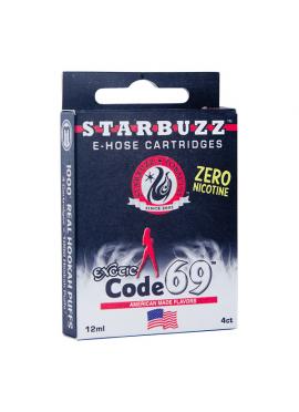 4 Cartuchos Starbuzz E-Hose - Code 69
