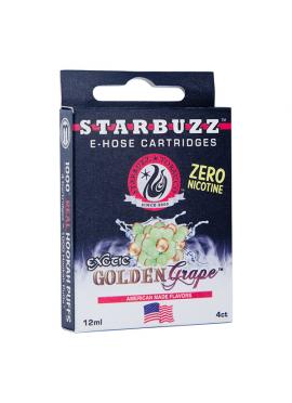 4 Cartuchos Starbuzz E-Hose - Golden Grape