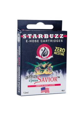 4 Cartuchos Starbuzz E-Hose - Green Savior