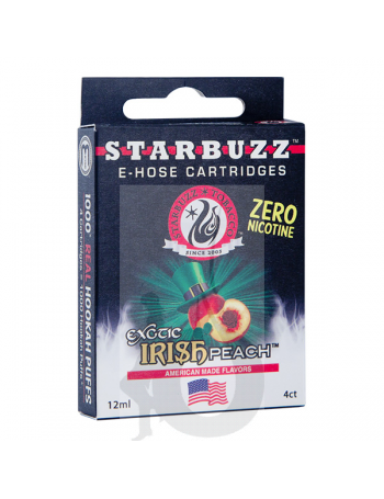 4 Cartuchos Starbuzz E-Hose - Irish Peach