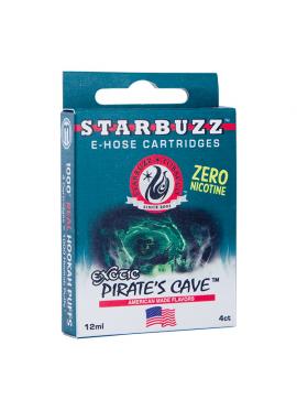 4 Cartuchos Starbuzz E-Hose - Pirate's Cave