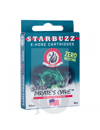 4 Cartuchos Starbuzz E-Hose - Pirate's Cave