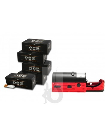 Máquina Pay Pay Easy Roller + 3000 Tubos OCB 250 (12 cajas)