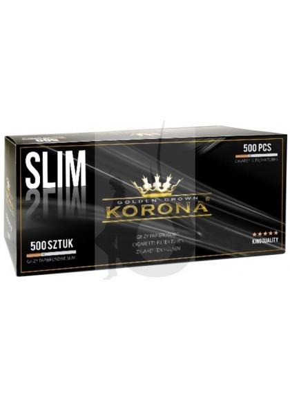 3 Paquetes de Tubos Korona Slim 500 (1500 tubos)