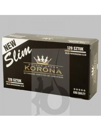 5 Paquetes de Tubos Korona Slim 120 (600 tubos)