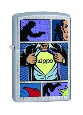 Zippo Superhero