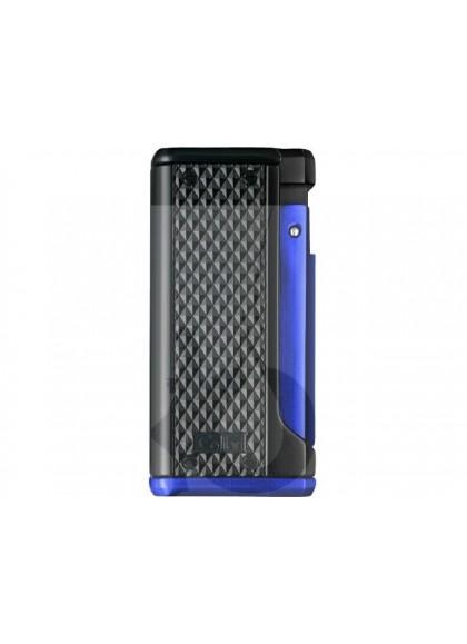 Encendedor Colibri Monza III Negro Azul