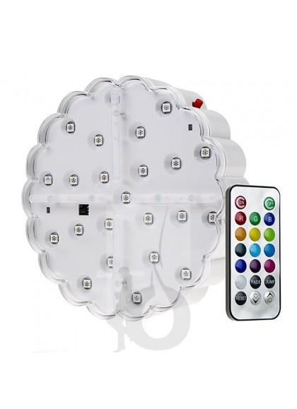 """LED 6"""" Sumergible (con mando incluido)"""