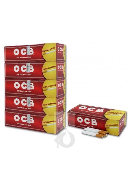 TUBOS OCB 200 CON FILTROS EXTRA-LARGOS