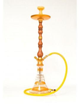 Shisha Premium de Madera Walden - Color: Dorado