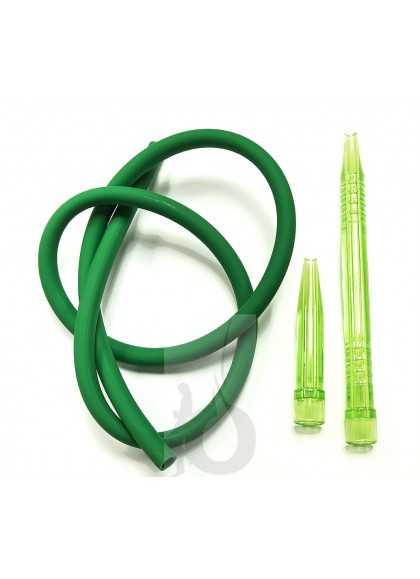 Manguera Walden de Silicona + Boquilla - Color: Verde