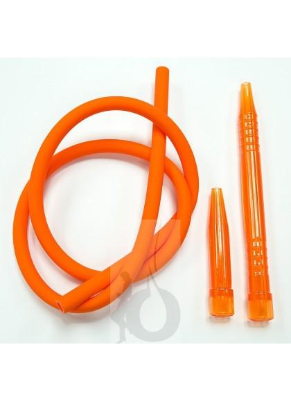 Manguera Walden de Silicona + Boquilla - Color: Naranja
