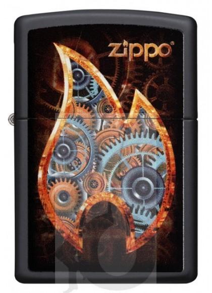 Zippo Steampunk Flame