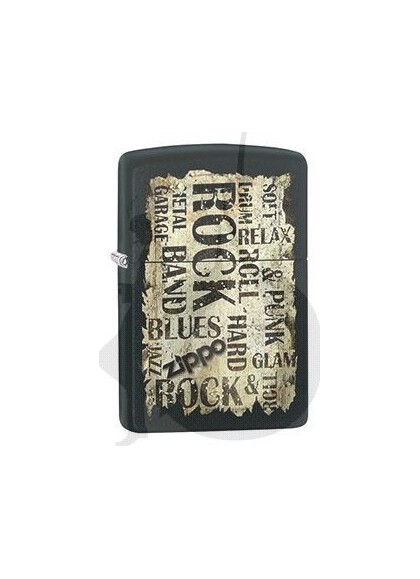 Zippo Rock and Roll Grunge