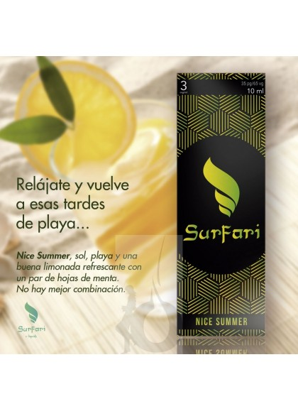 Surfari Nice Summer (Limonada con Menta) 10 ml