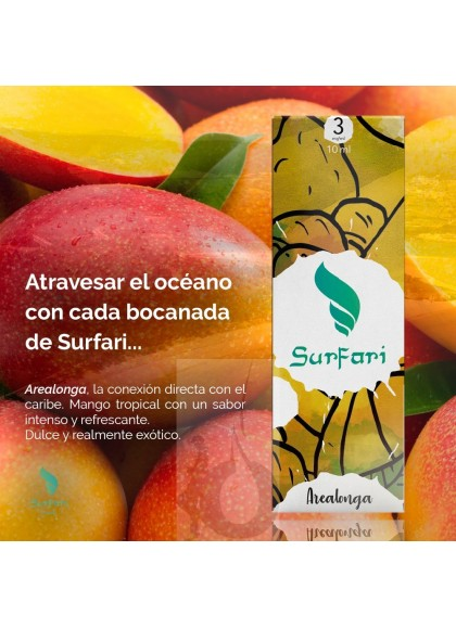 Surfari Arealonga (Mango Tropical) 10 ml