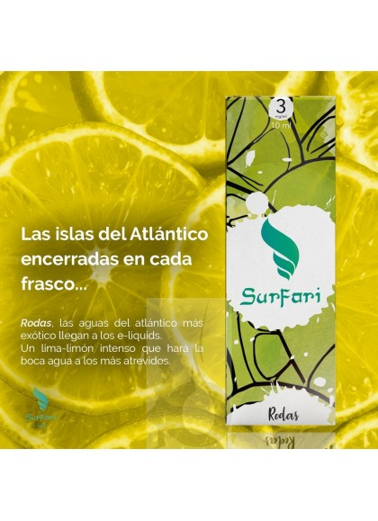 Surfari Rodas (Lima-Limón) 10 ml
