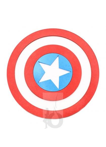 Tapete 3D Sapiens Capitán América