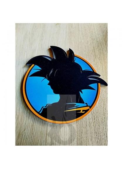 Tapete 3D Sapiens Goku