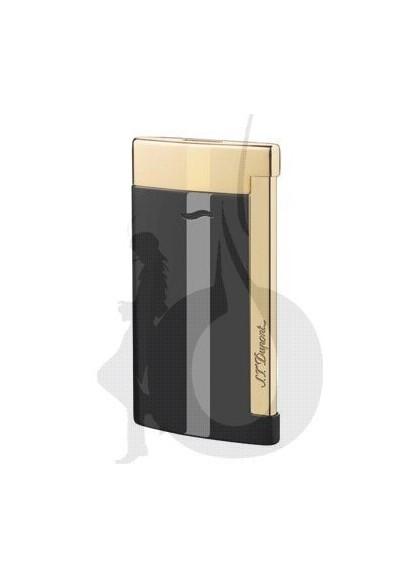 S.T. Dupont Slim 7 Negro Dorado
