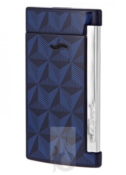 S.T. Dupont Slim 7 Azul Cromado