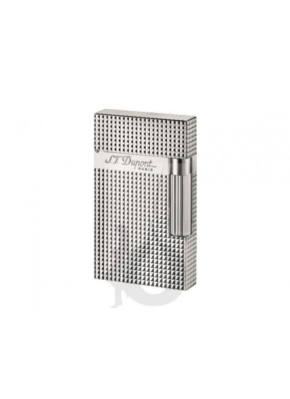 S.T. Dupont Ligne 2 Diamond Head Silver
