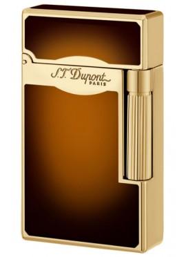 S.T. Dupont Ligne 2 Le Grand Sun Burst Brown Natural Lacquer Oro