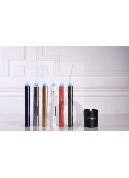 Encendedor de Lujo para Velas S.T. Dupont - The Wand Blue Chrome