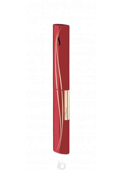Encendedor de Lujo para Velas S.T. Dupont - The Wand Red Waves Golden