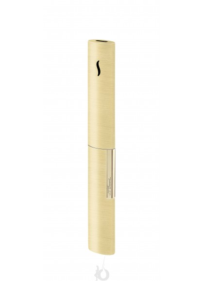 Encendedor de Lujo para Velas S.T. Dupont - The Wand Brushed Gold