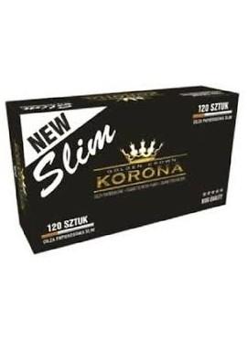 15 Paquetes de Tubos Korona Slim 120 (1800 tubos)