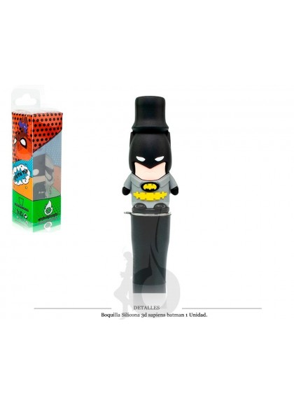 Boquilla Silicona 3D Sapiens Batman