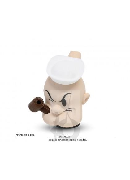 Boquilla 3D Accion Popeye